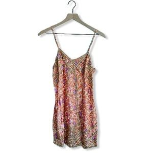 Intimately Free People Beaded Floral Jeweled Dress